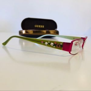 GUESS GU9036 PINK GREEN W/ ACCENTS 47/16 Glasses
